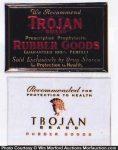 Trojan Rubber Goods Signs