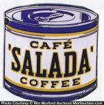 Cafe Salada Coffee Sign