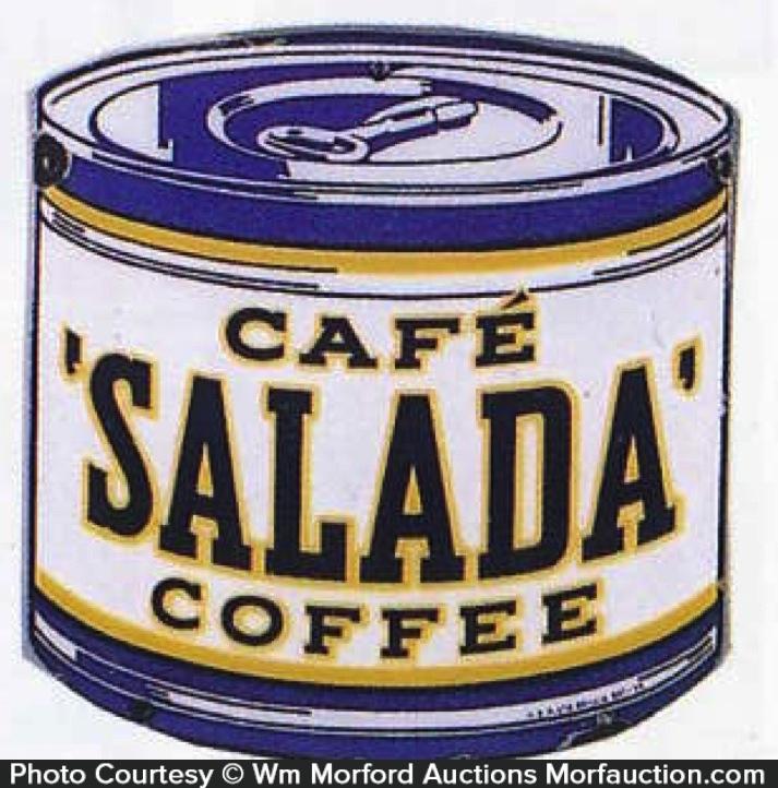 Cafe Salada Coffee Sign