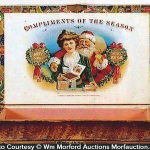 Santa Cigar Box