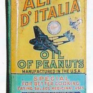 Planters Ali D'Italia Oil Tin
