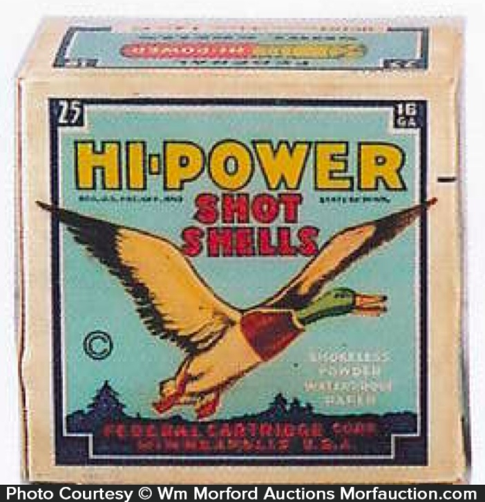 Hi-Power Shot Shells Box