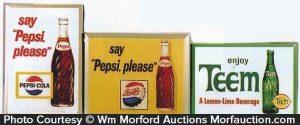 Vintage Soda Signs