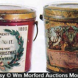 Vintage Christmas Pails