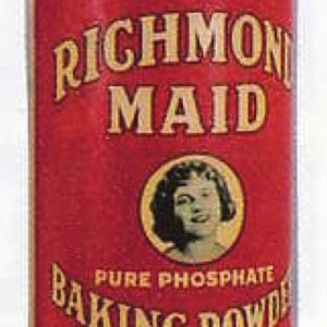 Richmond Maid Baking Powder Tin