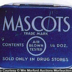 Mascots Condom Tin