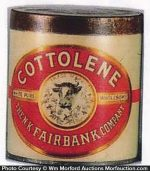 Cottolene Tin