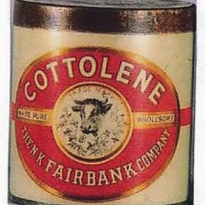 Cottolene Tin