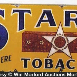 Star Tobacco Sign