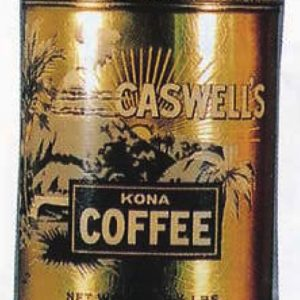 Caswell's Kona Coffee Can