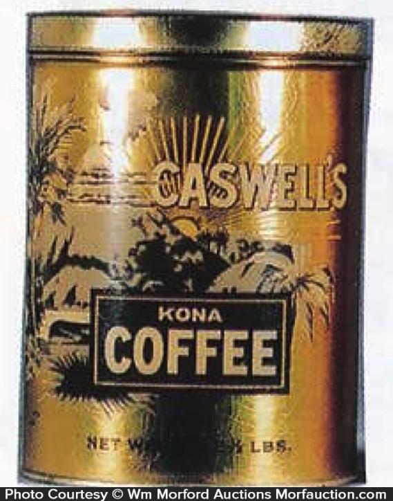 Caswell's Kona Coffee Can