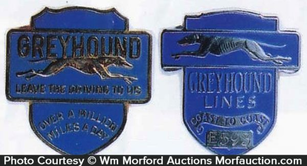 Greyhound Cap Badges