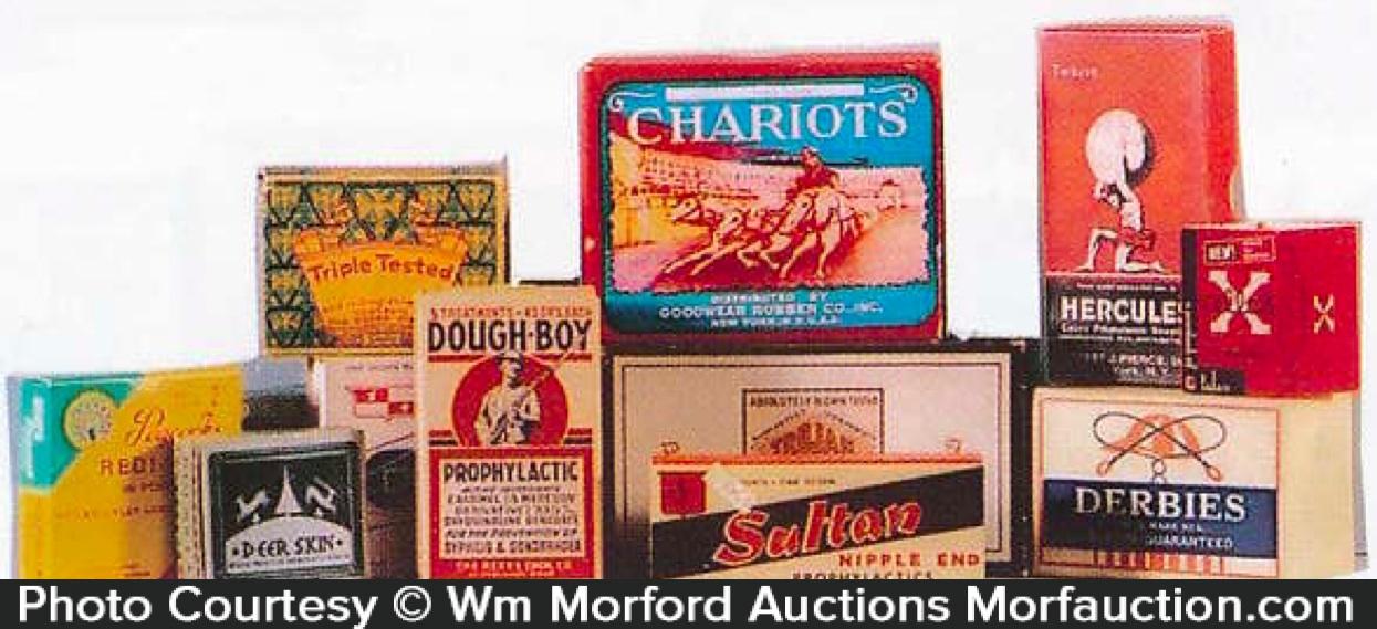 Vintage Condom Boxes