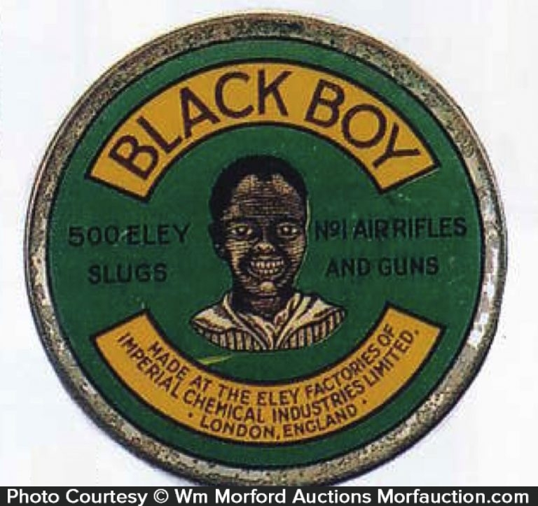Black Boy Air Rifle Ammo Tin