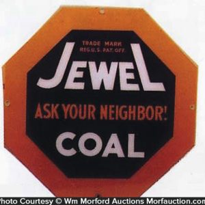 Jewel Coal Sign