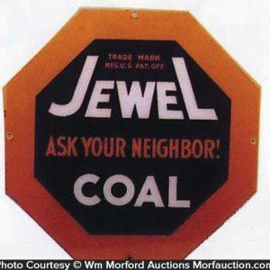 Jewel Coal Sign