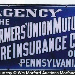 Farmers Fire Insurance Sign
