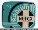 Radium Nutex Condom Tin