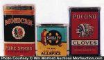 Vintage Indian Spice Tins
