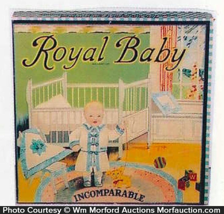 Royal Baby Clothing Box