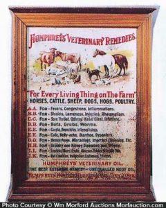 Humphrey's Veterinary Cabinet