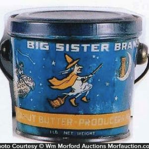Big Sister Peanut Butter Pail