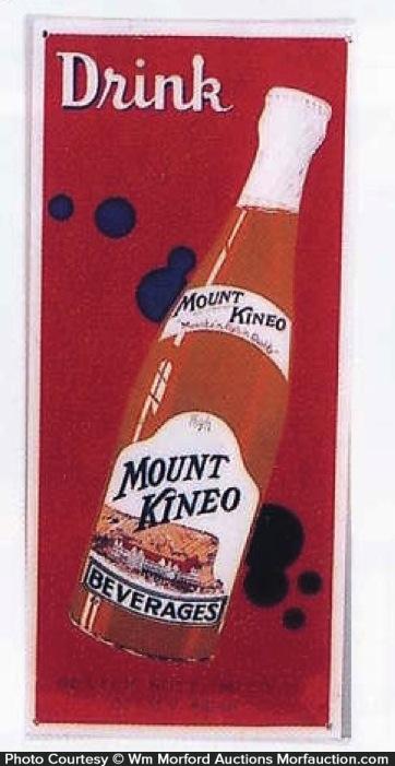 Mount Kineo Soda Sign