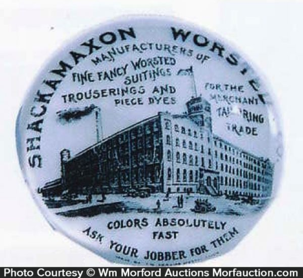 Shackmaxon Worted Paperweight