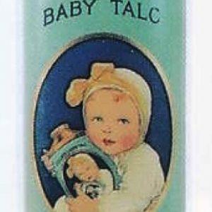 Colgate's Baby Talc Tin