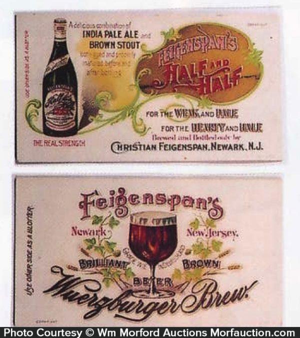 Feigenspan's Brewery Blotters