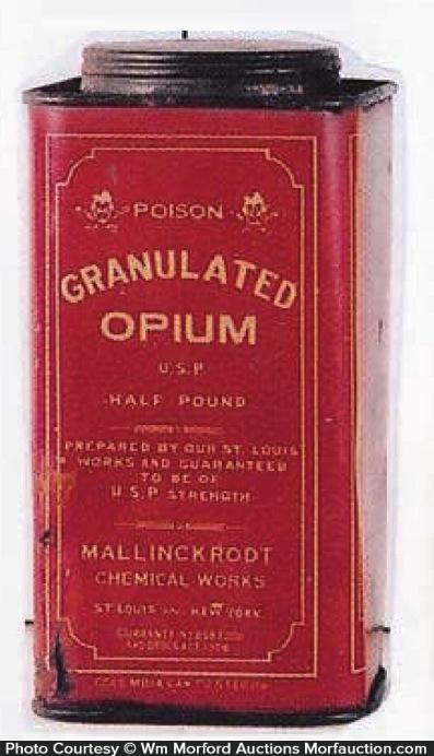 Granulated Opium Tin