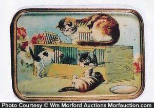 Vintage Cat Tray