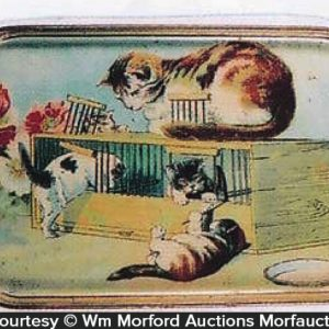 Vintage Cat Tray