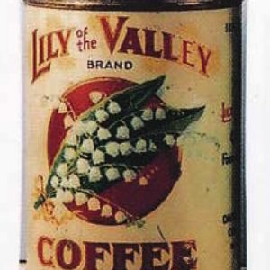 Lily Of The Valley Coffee Can