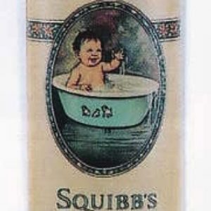 Squibb's Nursery Powder Tin