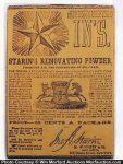 Starin's Renovating Powder Package