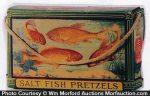 Nabisco Salt Fish Pretzels Tin