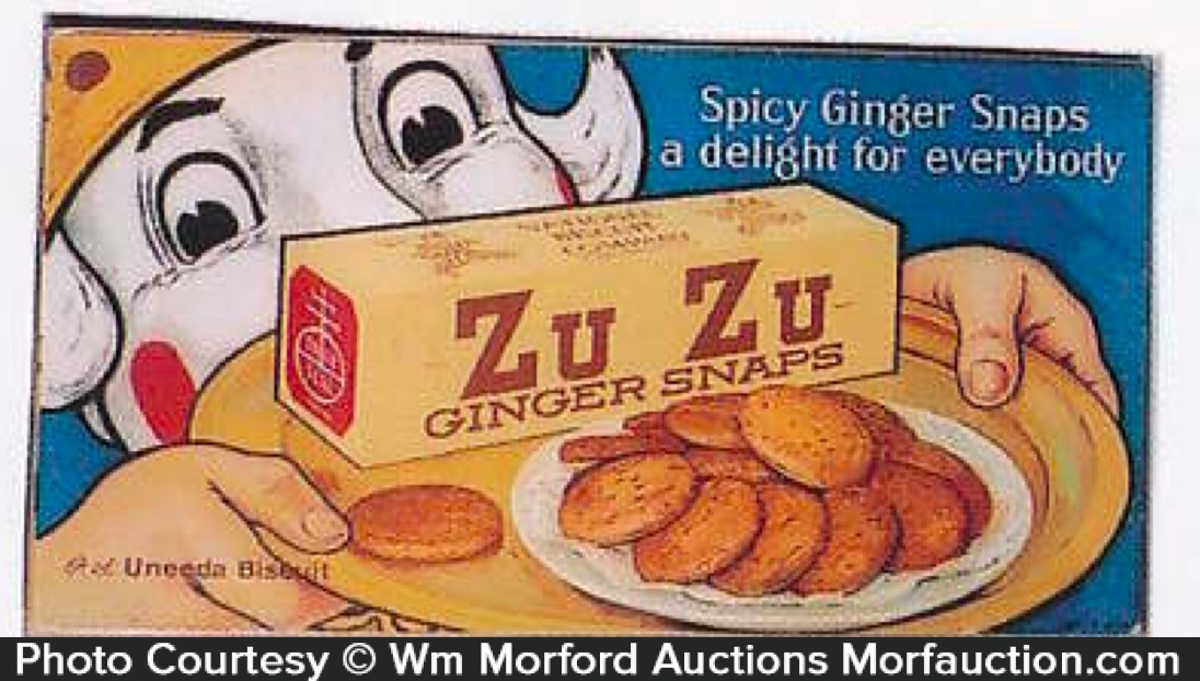 Zu Zu Ginger Snaps Sign