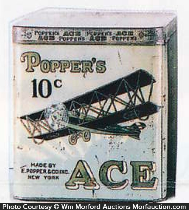 Poppers Ace Cigar Can