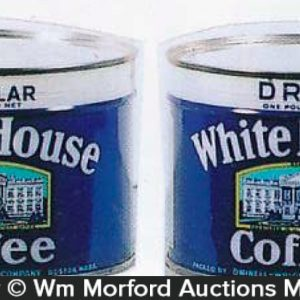 White House Coffee Cans