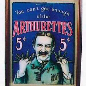 Arthurettes Cigar Sign