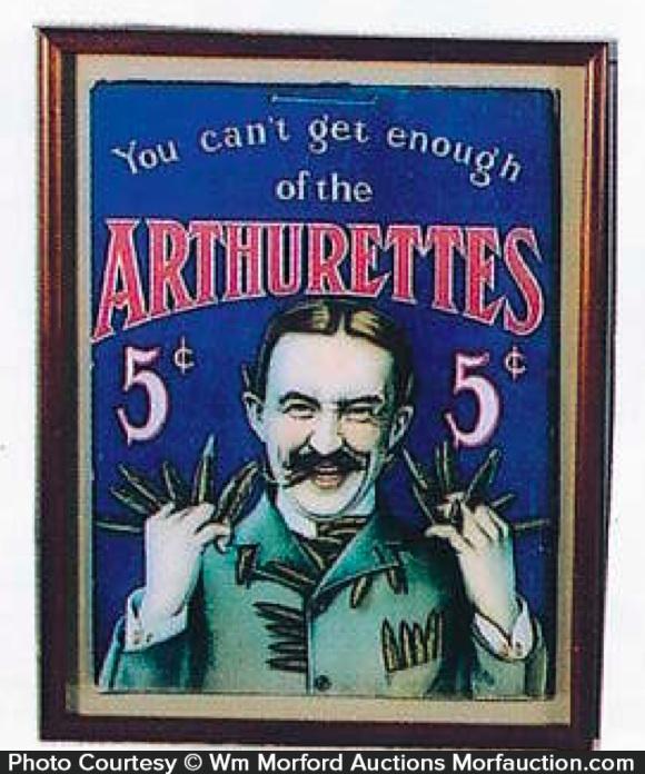 Arthurettes Cigar Sign