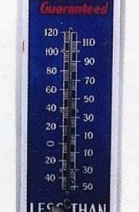 Great Heart Coal Thermometer