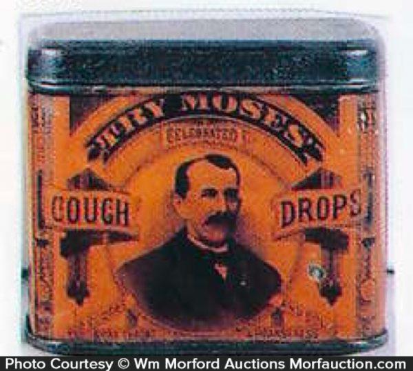 Moses Cough Drops Can