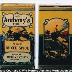 Anthony's Spice Boxes