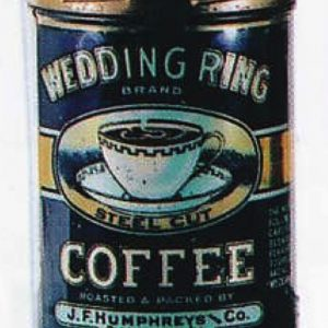 Wedding Ring Coffee Can