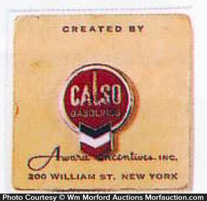 Calso Gasoline Uniform Pin