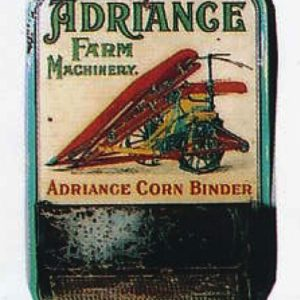 Adriance Corn Binder Match Holder
