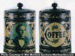 Williams Jennings Bryan Coffee Can