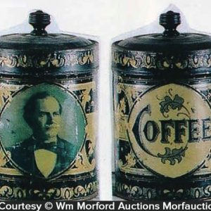 Williams Jennings Bryan Coffee Can